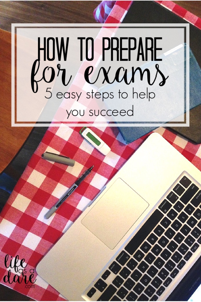 Don't stress! Here is a great guide on how to prepare for exams plus a FREE printout to help you get organized and be completely on top of your courses!