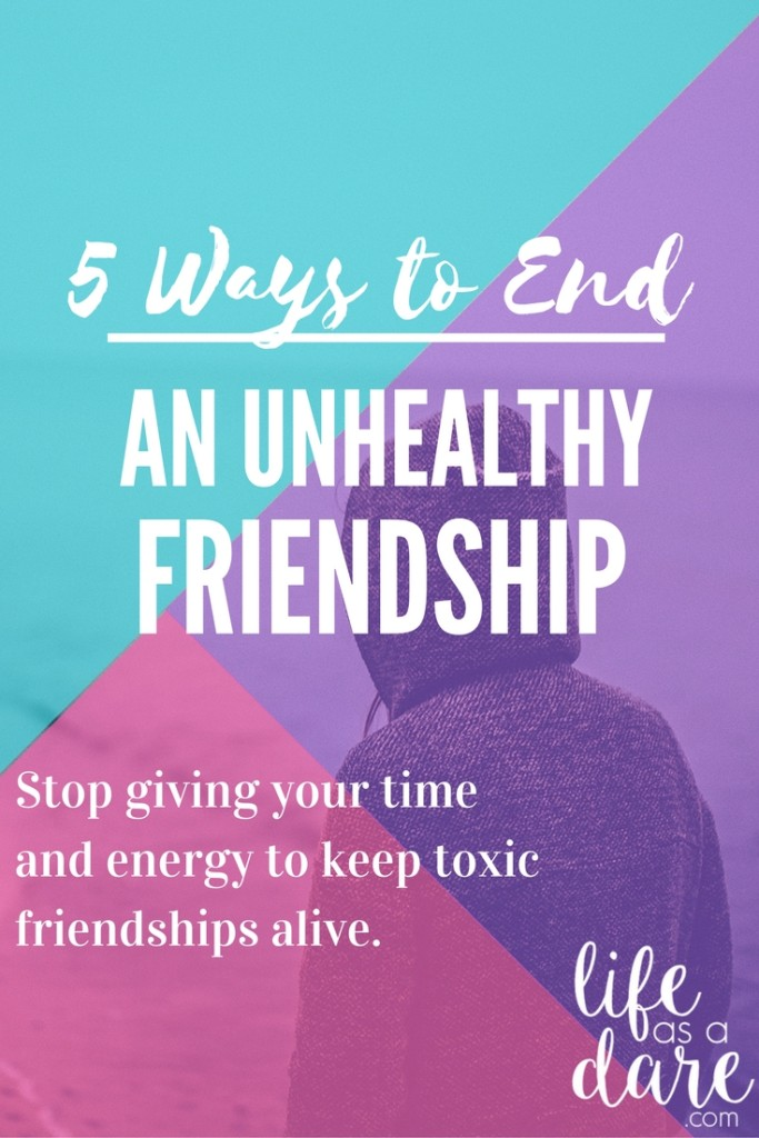 Dealing with a toxic friend who, frankly, you don't want to even be friends with anymore? Here's how to end a friendship without making matters worse!