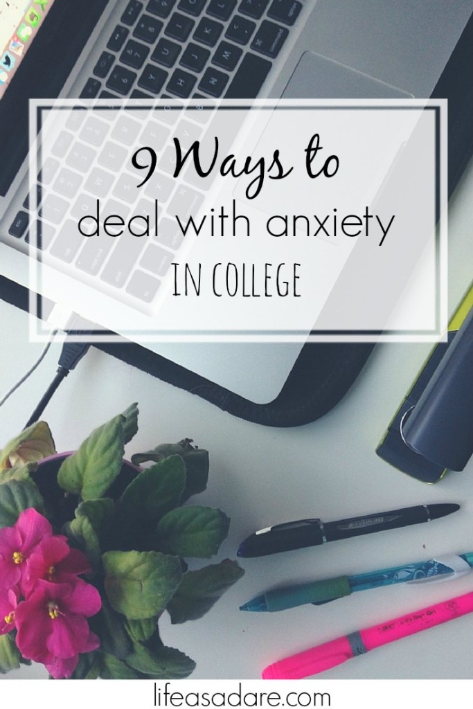 dealing with college stress How to deal with anxiety and stress during college author: jade what tips and tricks do you have for dealing with stress and anxiety in college.