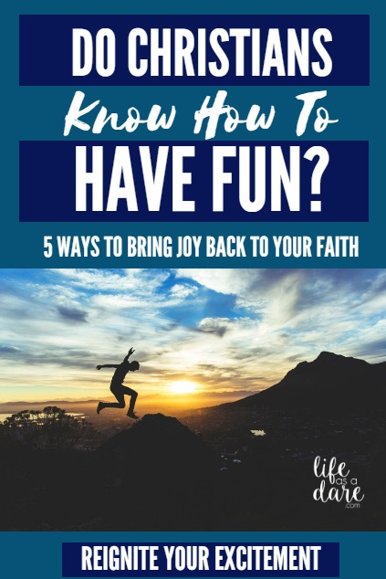 "Have you lost the ""spark"" in your faith life? Here are 5 ways to bring JOY back to your faith!"